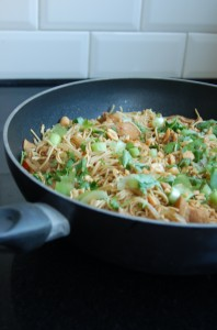 pad thai (FODMAP arm)